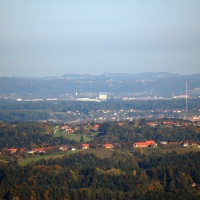 View from West Styria to Dobl