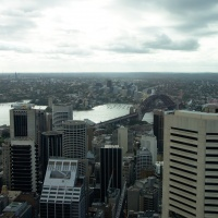 Harbour Bridge from the Sydney Tower Eye